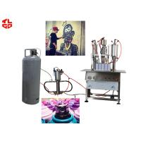 Quality High Capacity Aerosol Spray Paint Can Filling Machine Semi Automatic for sale