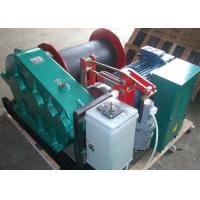 Quality 20t single drum electric crane winch for lifting wok together with crane for sale