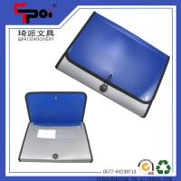 Quality Stationery Supplier A4 PP ECO-Friendly File bag foldable Expanding File Folder Business Document Bag for sale