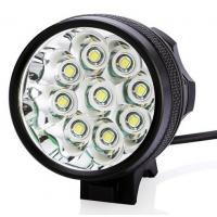 China 2016 new bike light 9 LED Bicycle Front Head Light with 1 led Rear Safety Flashlight on sale