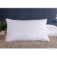Quality Polyester Fiber Hotel Standard Comfort Pillows , Hotel Collection Decorative Down Pillows for sale
