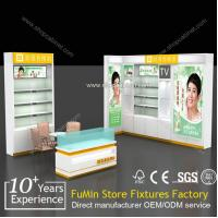 Quality Supply all kinds of acrylic cosmetic showcase design,cosmetics display design showcase for sale