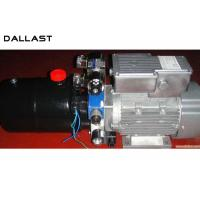 Quality DC Horizontal 12-24V Hydraulic Power Unit with Steel Tank Lift 2.5 Tonne for sale