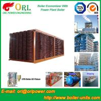 Quality Electrical Water CFB Boiler Economizer Power Plant , Steam Boiler Economizer for sale