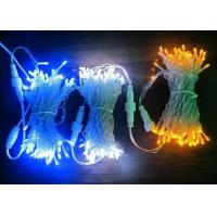 Quality Outdoor LED Xmas String Lights 30M Electrical Blue / Pink / White Decoration for sale