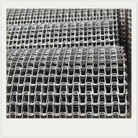 Quality Horseshoe Stainless Steel Wire Mesh Conveyor Belt For Bottle Conveyor for sale