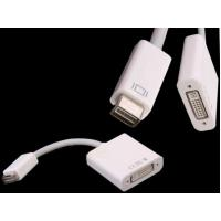 Quality 15CM Mini DVI Male to HDMI Female Adapter Convertor Cable for Macbook pro iMac for sale