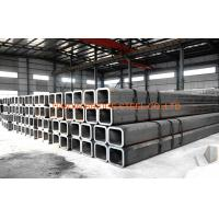Buy Q195, Q235, Q345 Black Square Hollow Section Steel Pipe For Construction at wholesale prices