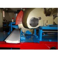 China 77mm Fully Automatic PU Shutter Door Roll Forming Machine Foam Filled Insulated on sale