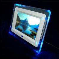 """Quality 7"""" Rocking White Digital Picture Frame, Commercial Electronic Pictures Frames for sale"""