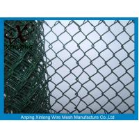 Quality Hot Dipped Galvanized Chain Link Fence For Construction / Residential for sale