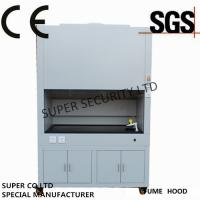 Quality 800W - 1400W Chemical Fume Hood , exhaust fume hoods With LCD Display Screen for sale