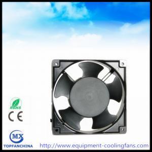 Quality ac fan 110V 120V 220V 240V 380V, 4.7 Inch metal industry exhaust fan 120 x 120 x 38mm for sale