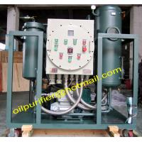 Quality Gas Turbine Oil Purification System, Vacuum Turbine Oil Separator Machine,Oil Purifier with Explosion-proof for sale