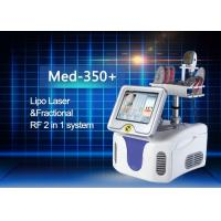 Quality Perfect Combination Fractional RF And Diode Lipo Laser Machine High Efficiency for sale