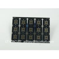 Buy Black Double Sided Printed Circuit Board Gold Plating Surface Finish at wholesale prices
