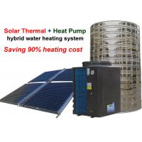 Quality Non Pressurized Solar Heat Pump Water Heater , Solar Thermal Water Heater 4.0 Cop for sale