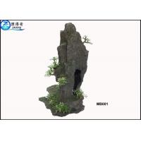 Buy Artificial Hill Decorative Aquarium Resin Ornaments For Indoor Fish Tank at wholesale prices