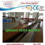 Quality 150kg/Hr WPC Profile Extrusion Line WPC Profile Production Line for sale