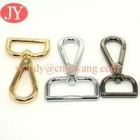 Quality swivel snap hooks gold metal snap hooks for purse for sale