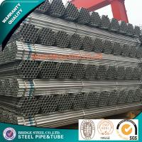 Buy Q195 Hot Dipped Galvanized Mild Steel Tube For Water Delivery Construction at wholesale prices