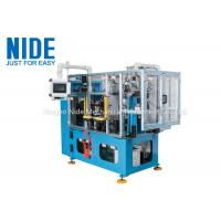 Quality Compression motor automatic stator coil lacing machine , four working station machine for sale