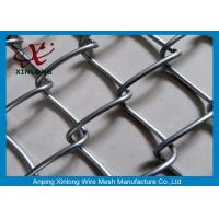 Quality Fram Hot Dipped Galvanized Chain Link Fence Flat Surface Length 10m for sale