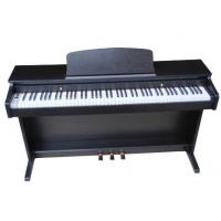 Quality Electronic Polished black 88 key Digital Piano With Melamine Shell DP8820B for sale