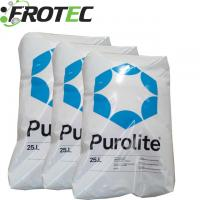 Water treatment chemical Purolite C-100E Na+ Cation Exchange Resin for sale
