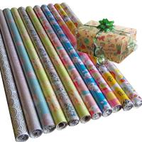 Quality 30inch x 120inch  wrapping paper set 80gsm coated paper christmas gift wrap paper for sale