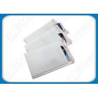 China White Smooth LDPE Poly Bubble Envelopes , Flexible Padded Mailing Bags on sale