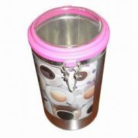Quality Candle gift box with plastic lid, recyclable for sale