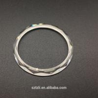 Quality 1-200mm Dia Sapphire Flat Watch Glass With Custom Shape 0.5-50 mm Thickness for sale