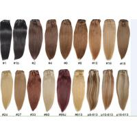 Buy Unprocessed Colored Human Hair Extensions , Colored Hair Weave at wholesale prices