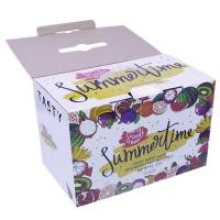 China Collapsible Corrugated Paper Box / Fancy Dry Fruit Boxes With Handle on sale