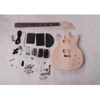 Quality Double Cutaway Mahogany Body DIY Electric Guitar Kits Rosewood Fingerboard AG-DU4 for sale