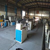 Buy cheap Single Screw Wire Extrusion Machine For Wire Cable Making 380V 50HZ 30 Meters from wholesalers