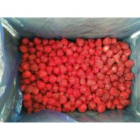Quality No Artificial Colors Bulk Frozen Strawberries With Whole/ Dice / Slice Shape for sale