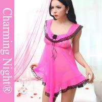 Quality Super Sex Women Sleepwear Latest Fashion Sexy Transparent Babydoll Lingerie For Women for sale