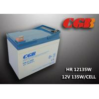 Quality HR12135W  12V 33Ah Energy Storage Battery , AGM Rechargeable V0 Battery for sale