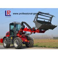 China 4-wheel Drive Heavy Construction Machinery With 3 Ton Load / 1.5 SQM Bucket on sale