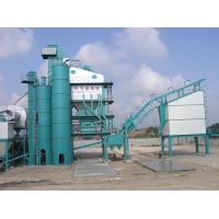 Quality Road Building Machines Asphalt Batching Plant With 30T Container Type Diesel And Bitumen Tank for sale
