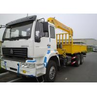 Quality 10 Ton Telescopic Boom Truck Crane Commercial , 13.5m Max Reach for sale