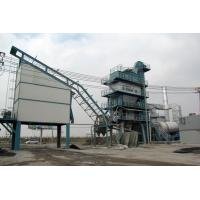 Quality Screw Conveyor Tri - Fuel Burner Asphalt Batch Mix Plant With 0.075mm Dust Separation for sale
