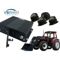 Quality 4CH AHD MDVR 3G Mobile DVR 3G 4G GPS WIFI mobile car dvr with G - sensor for sale
