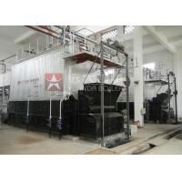 China Dzl6 Chain Grate Coal Fired Steam Boiler 6 Ton Per Hours For Rice Mill / Textile Mill for sale