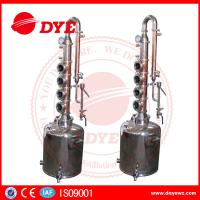 Quality 50L Professional Home Distilling Equipment 4 Plates , Vodka Distillation Kit for sale