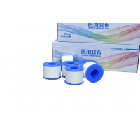Quality Disposable Medical Tape Low Allergenic Weaving Proof Fabric for sale