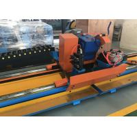 Quality Semi-Automatic Manual Type Metal Circular Cold Cut Pipe Saw / Pipe Cutting Beveling Machine for sale