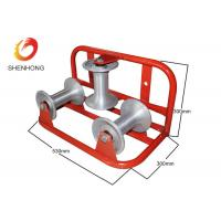 Buy cheap Steel Cable Laying Roller Triple Corner Cable Roller for Underground Cable Laying from wholesalers
